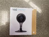 Nest - Cam Security Camera - Black/Silver SEALED NEW IN FACTORY BOX